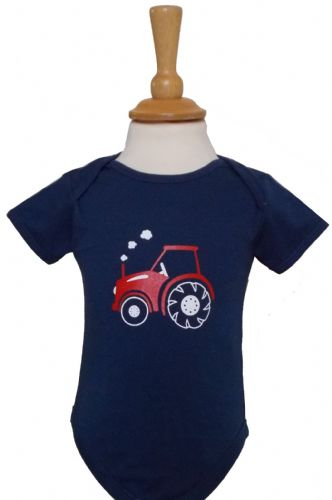 British Country Collection 'Little Tractor' Body Suit